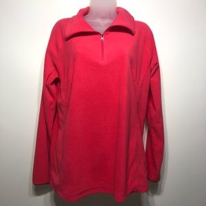 Columbia 3/4 zip pullover size extra large
